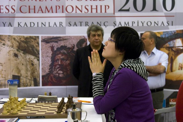 Hou Yifan is the new Women's World Chess Champion (2010)