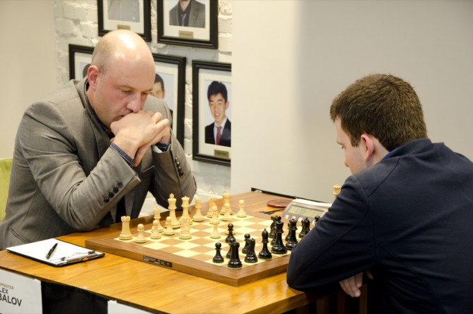 2011 U.S. Chess Championship, Round 4 Alexander Shabalov