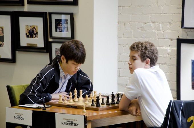 U.S. Chess Champs Rd 5, Robson vs Naroditsky