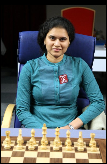 GM Humpy Koneru, Photo Courtesy WWCC 2012