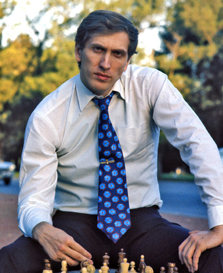 Bobby Fischer by  Harry Benson ©