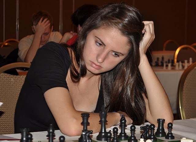 Alexandra Wiener, 2012 Scholar-Chessplayer Award Recipient