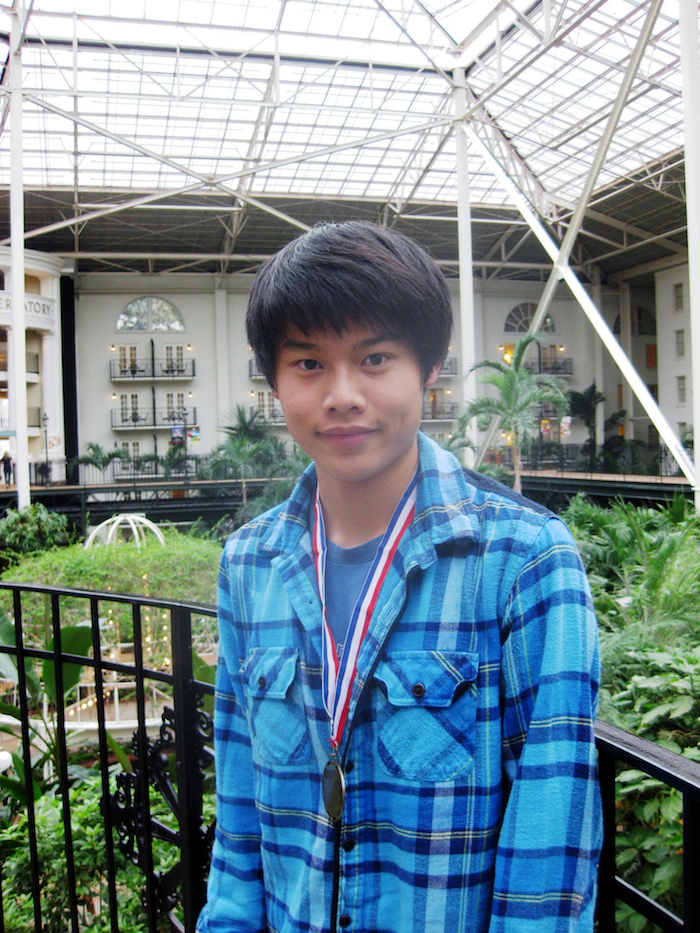 Andrew Ng, 2012 Scholar-Chessplayer Award Recipient