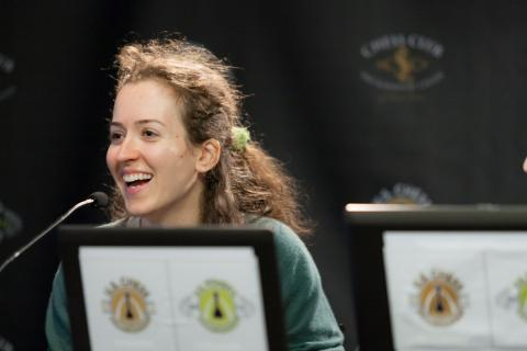 Irina Krush,  2012 US Chess Championship Winner, Photo Courtesy USChessChamps.com