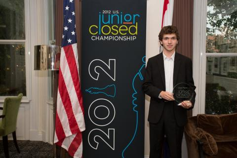 International Master Marc Arnold, 2012 U.S. Junior Closed Championship, Photo Courtesy www.uschesschamps.com