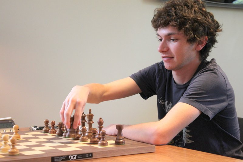 IM Marc Arnold, Photo Courtesy Saint Louis Chess Club