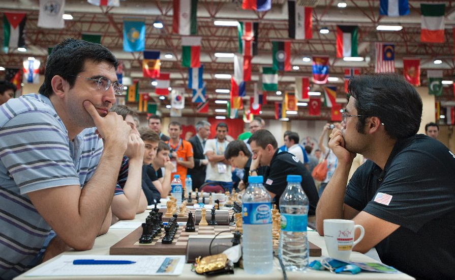2012 Chess Olympiad Rd9 by David Llada ©