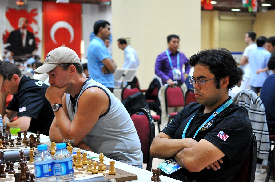 2012 Chess Olympiad Round 7 by Arman Karakhanyan ©