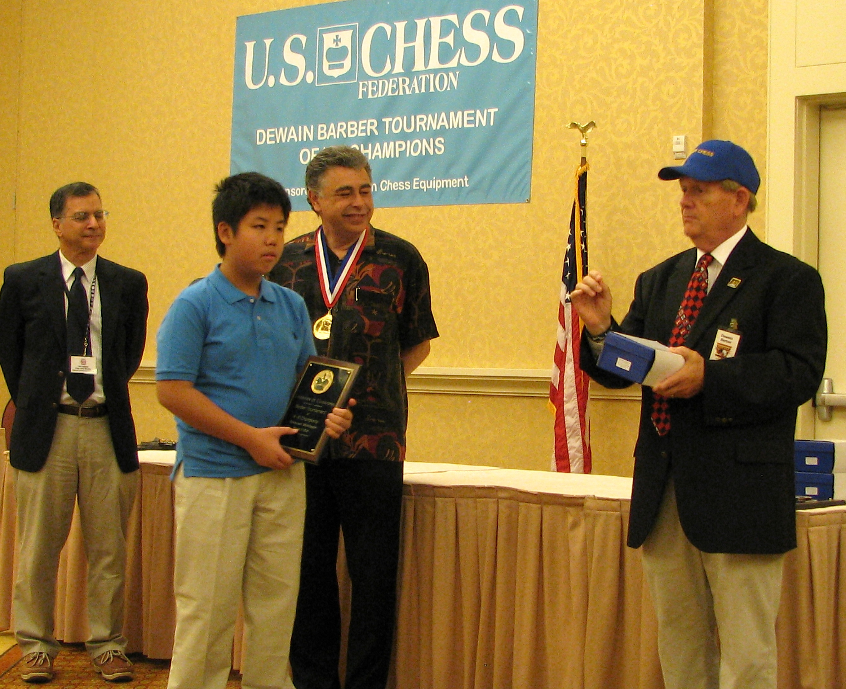 Tommy He, 2012 Barber Champion