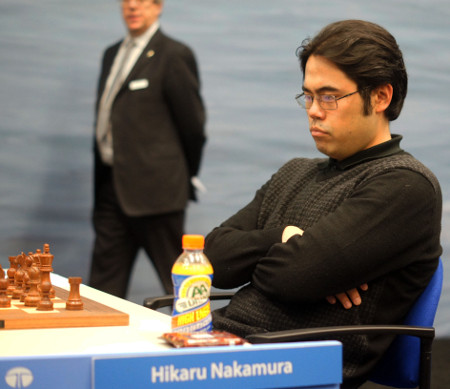 Hikaru Nakamura, Day 10, 2013 Tata Steel Chess Tournament, Photo Courtesy Official Website www.tatasteelchess.com