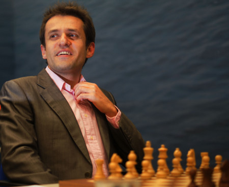 Aronian, Day 6, 2013 Tata Steel Chess Tournament, Photo Courtesy Official Website www.tatasteelchess.com