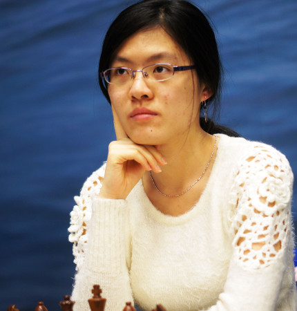 Hou Yifan, Day 6, 2013 Tata Steel Chess Tournament, Photo Courtesy Official Website www.tatasteelchess.com