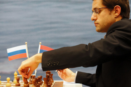 Aronian, Day 7, 2013 Tata Steel Chess Tournament, Photo Courtesy Official Website www.tatasteelchess.com