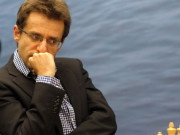 Aronian, Day 8, 2013 Tata Steel Chess Tournament, Photo Courtesy Official Website www.tatasteelchess.com