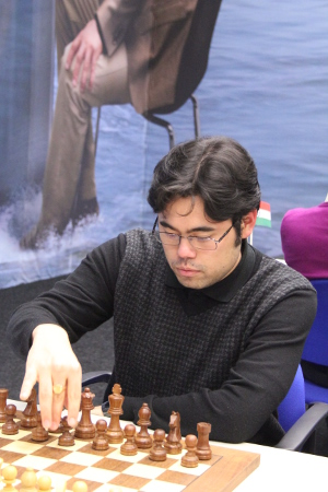 Hikaru Nakamura, Day 8, 2013 Tata Steel Chess Tournament, Photo Courtesy Official Website www.tatasteelchess.com