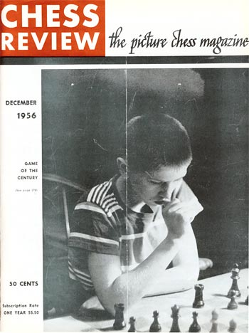 Chess Review Magazine (1956) Bobby Fischer