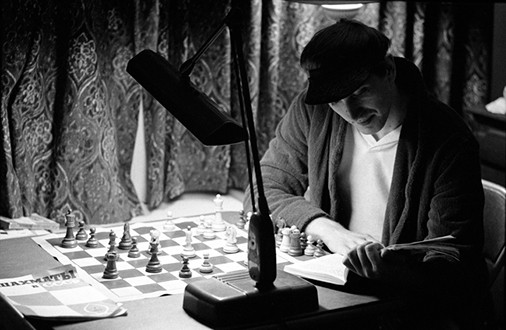 Bobby Fischer, Always Reading, Grossinger's Resort, New York, 1972