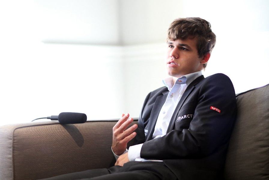 Magnus Carlsen, 2013 FIDE Candidates Match, Photos courtesy FIDE.com