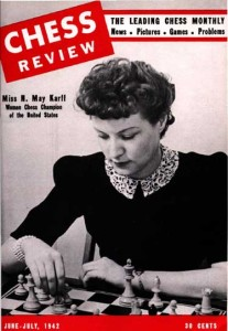 Mona Ray Karff, Cover of Chess Review Magazine