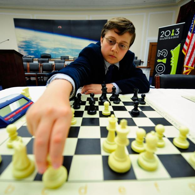 Sam Sevian, 2013 US Chess Championship, Photo Courtesy Saint Louis Chess Club