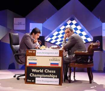 Kasparov vs Kramnik, World Chess Championship 2000