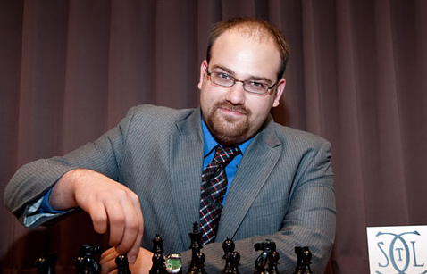 GM Josh Friedel, Photo Credit Saint Louis Chess Club