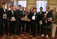 2014 Final Four College Chess; Photo Copyright Dora Leticia