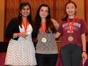 Claudia Munoz,  Jessica Regam,  Jennifer Yu