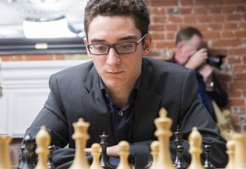 Fabiano Caruana 2014 Sinquefield Cup Saint Louis Chess Club Copyright